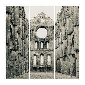 Tríptico Catedral italiana en Toscana