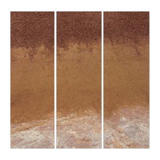 Tríptico Colinas pintadas Ombre