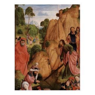 Tríptico de Hugo van der Goes- Calvary (el panel i Postal