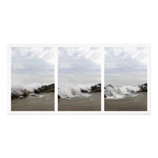 Tríptico del océano fotos