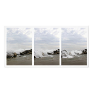 Tríptico del océano impresion fotografica