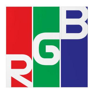Tríptico del RGB