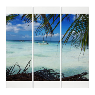 Tríptico Playa de Domenicana