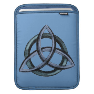 Triquetra (azul) fundas para iPads