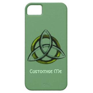 Triquetra (verde) iPhone 5 Case-Mate cárcasa