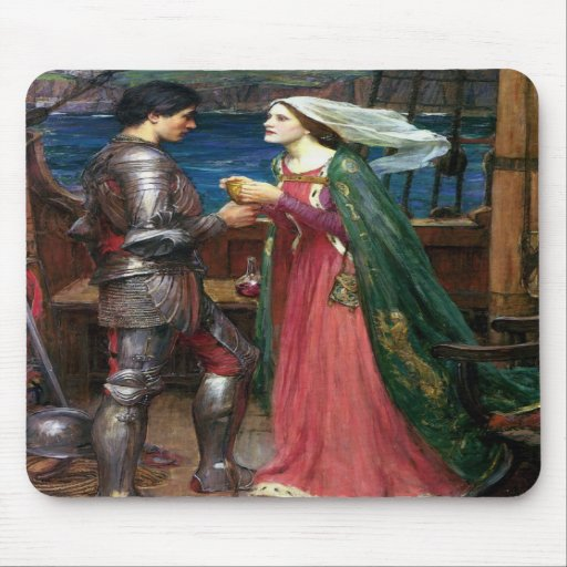 Tristan e Isolda con la poción Tapete De Ratón