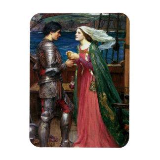 Tristan e Isolda con la poción Imanes Rectangulares