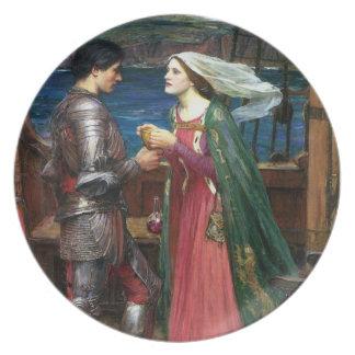 Tristan e Isolda con la poción Platos
