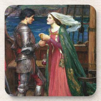 Tristan e Isolda con la poción Posavasos De Bebidas