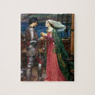 Tristan e Isolda con la poción Puzzle Con Fotos