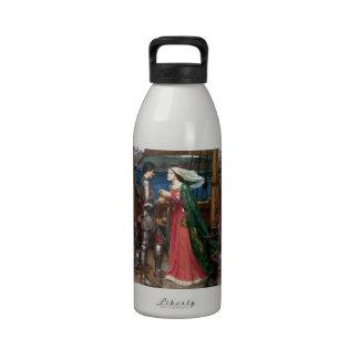 Tristan e Isolda de John William Waterhouse Botellas De Agua Reutilizables