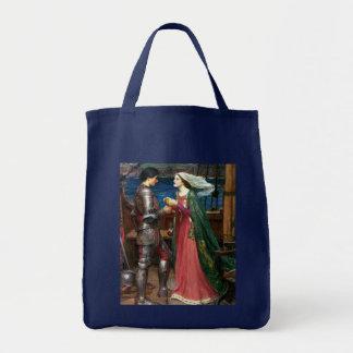 Tristan e Isolda de John William Waterhouse Bolsas