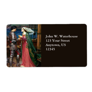 Tristan e Isolda de John William Waterhouse Etiquetas De Envío