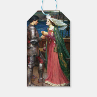 Tristan e Isolda de John William Waterhouse Etiquetas Para Regalos