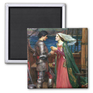 Tristan e Isolda de John William Waterhouse Imán Cuadrado