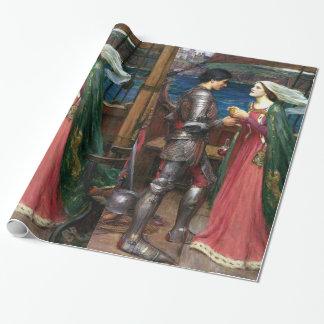 Tristan e Isolda de John William Waterhouse Papel De Regalo