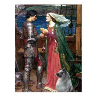 Tristan e Isolda - Keeshond (c) Postal