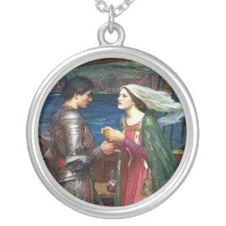 Tristan e Isolda Neclace Pendiente Personalizado