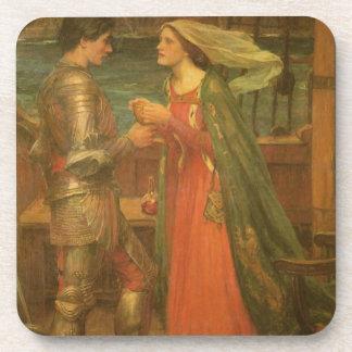 Tristan e Isolda por el Waterhouse, bella arte del Posavaso