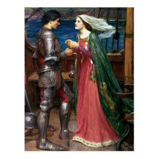 Tristan e Isolda Postal