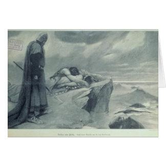 Tristan e Isolda Tarjeta De Felicitación