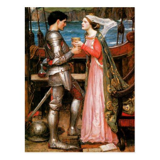 Tristan e Isolda Tarjetas Postales