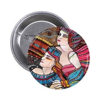 Tristan e Isolda - una historia de amor Chapa Redonda De 5 Cm
