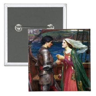 Tristan y botón de Isolda Pin