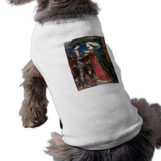 Tristan y camiseta del perrito de Isolda Camisetas De Perro