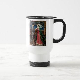 Tristan y taza del viaje de Isolda