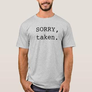 Triste tomado camiseta