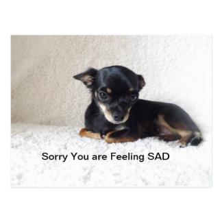 Triste usted es postal triste