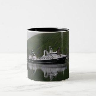 Triumph americano, barco rastreador de fábrica tazas