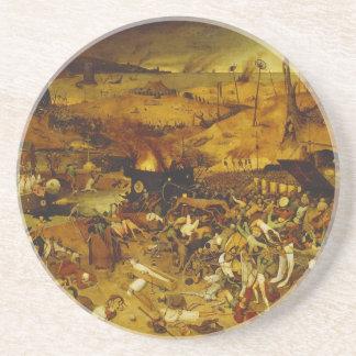 Triumph de la muerte de Pieter Bruegel la anciano Posavasos Manualidades