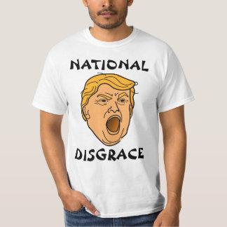 Triunfo anti de Donald Trump de la deshonra Camiseta