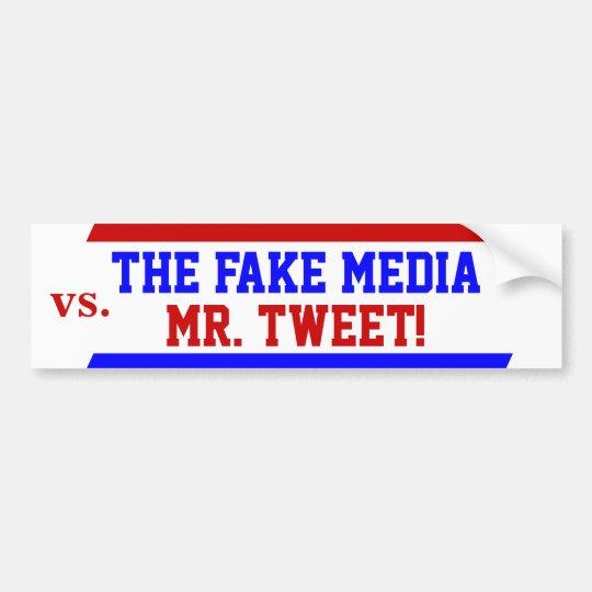 Triunfo como Sr. Tweet contra pegatina para el Pegatina Para Coche