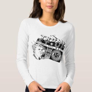 TRIUNFO de Boombox ÉL ENCIMA de Longsleeve Camiseta