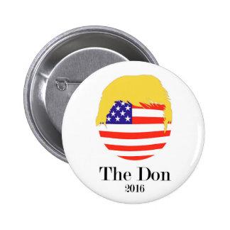 Triunfo de Doanld - botón presidencial