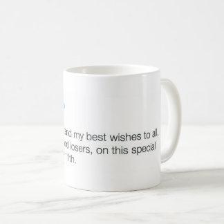 Triunfo magnánimo taza de café
