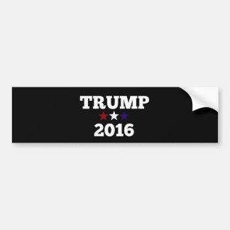 Triunfo para el presidente 2016 pegatina para coche