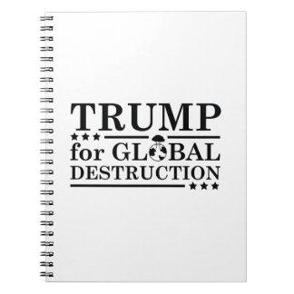 Triunfo para la destrucción global libros de apuntes