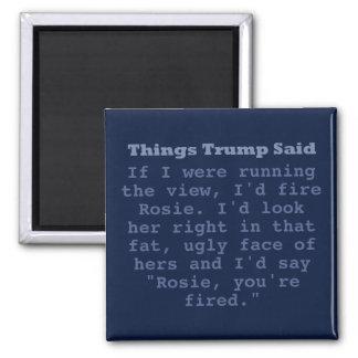 """Triunfo Rosie - 2"""" imán cuadrado"""