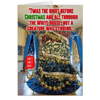 Triunfo Twas la tarjeta del chiste del navidad de