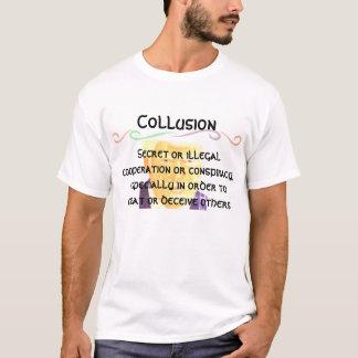 Triunfo y definición de la colusión camiseta