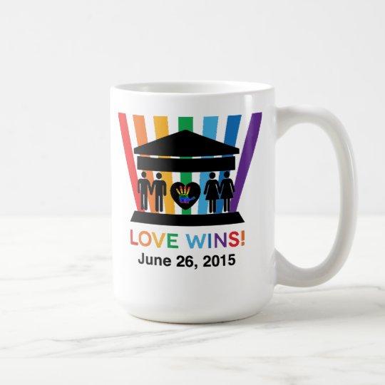 Triunfos del amor, nosotros taza dura judía R1