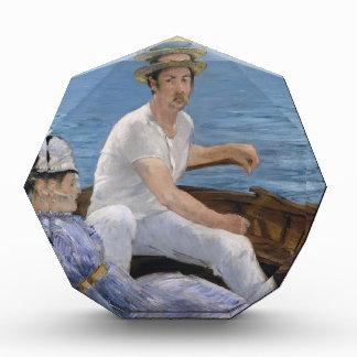 Trofeo Acrílico Canotaje - Édouard Manet