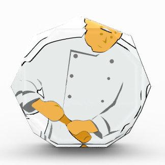 Trofeo Acrílico Cocinero