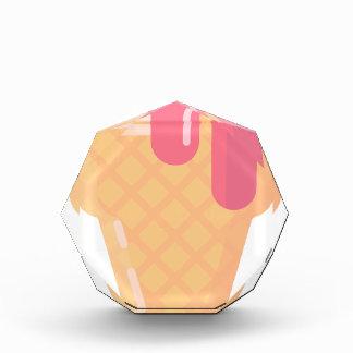 Trofeo Acrílico Cono de helado lindo