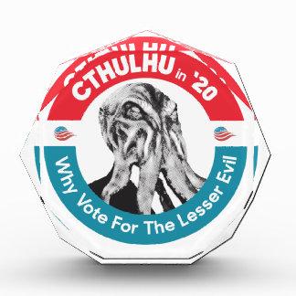 Trofeo Acrílico Cthulhu para el presidente en '20