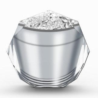 Trofeo Acrílico Cubo de hielo